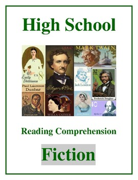 """High School Reading Comprehension: Fiction - """"The Cask of Amontillado"""" by Poe"""