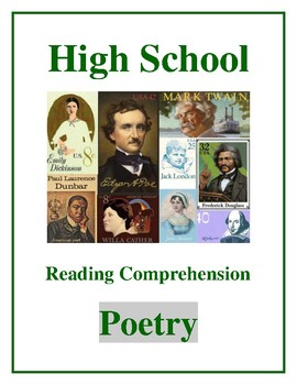 """High School Reading Comprehension: Poetry- """"I Heard a Fly Buzz When I Died"""""""