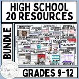 High School Resources MEGA BUNDLE Including TpT Products a