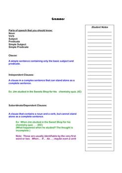 High School Revision through Grammar and Measuring Readability