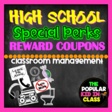 "High School Student ""Perks"" Reward Coupons"