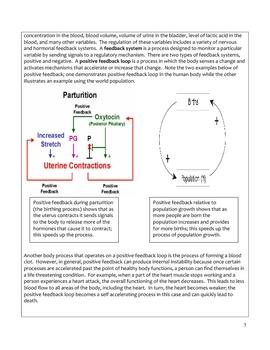 High School Biology Science Notes - Homeostasis