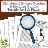 High School Science Reading Bundle: 6 Readings that can be