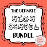 High School Speech and Language Therapy: ULTIMATE GROWING BUNDLE!