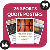High School PE Posters - Sports Quotes for Physical Educat