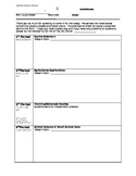 High School- Substitute Plan Sheet