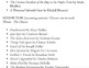 High School Summer Reading List (Fiction)