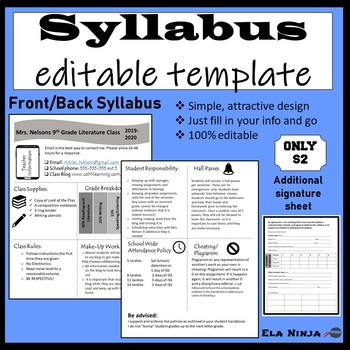 Classroom Syllabus Template from ecdn.teacherspayteachers.com