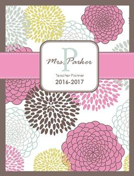 High School Teacher Planner: 2016-2017