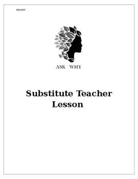 High School Teacher Sub Plan Template