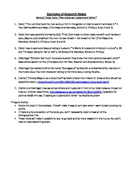 High School Thesis Paper Guidelines