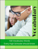 High School Vocabulary - 100 Words Every High Schooler Sho