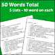 High School Vocabulary for Google Apps