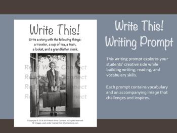 High School Writing Prompt, Creative (Traveler)
