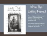Writing Prompt: Traveler