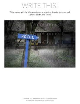 High School Writing Prompt, Creative (Hotel)