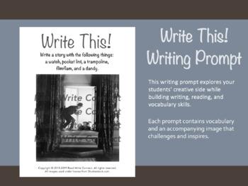 High School Writing Prompt, Creative (Mischief)
