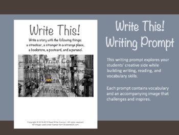 High School Writing Prompt, Creative (Trolly)
