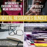 High School and Dual Enrollment English Digital Bundle