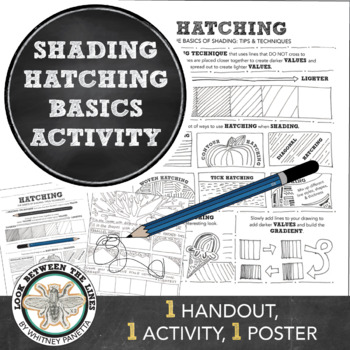Hatched Line Shading Basics: Visual Art for Middle School or High School