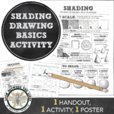 Art Shading Basics, Tips and Techniques: Visual Art in Middle or High School