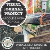 MS or HS Art Project: Visual Journal, Altered Book PowerPo
