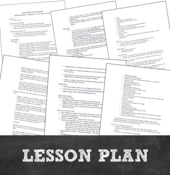 MS or HS Art Project: Visual Journal, Altered Book PowerPoint and Lesson Pack