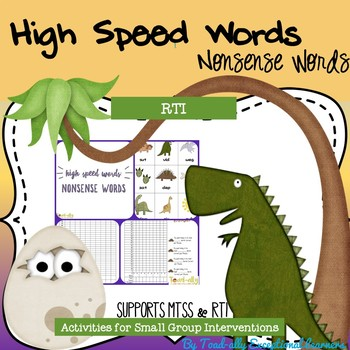 High Speed Words--Nonsense Words