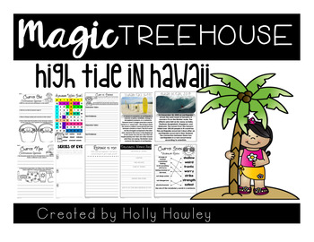 High Tide In Hawaii-The Magic Tree House A Guided Reading
