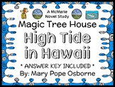 High Tide in Hawaii : Magic Tree House #28 Novel Study / Reading Comprehension