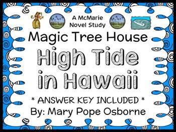 High Tide in Hawaii : Magic Tree House #28 Novel Study / R
