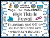 High Tide in Hawaii | Tsunamis Fact Tracker : Magic Tree House BUNDLE (57 pages)