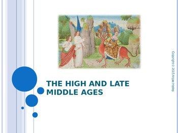 High and Late Middle Ages Powerpoint