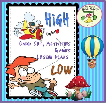 High and Low Card Set and Activities