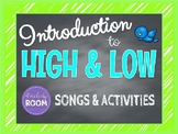 ELEMENTS OF MUSIC: High & Low Sounds