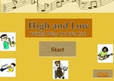 High and Low Powerpoint Game for Mac