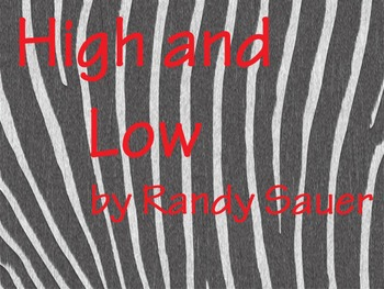 High and Low (Video Song)