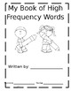 High frequency word book/libro de palabras frequentes
