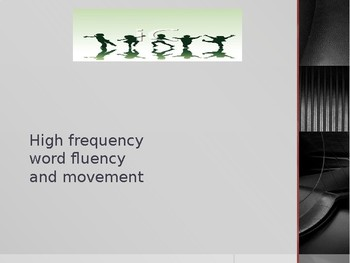 High frequency word powerpoint