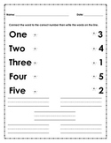 Reading, High-frequency-words, Sight-words, one two three