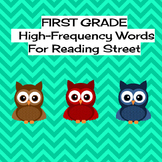 Reading Street High Frequency Words