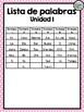 High frequency words in Spanish - Calle de la Lectura Unit 1 - 1st Grade