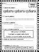 High frequency words in Spanish.Calle de la lectura. Unit 2 - 1st Grade