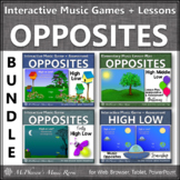 High Low Music Opposite Interactive Music Games + Music Le