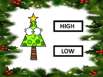 High or Low Christmas Friends