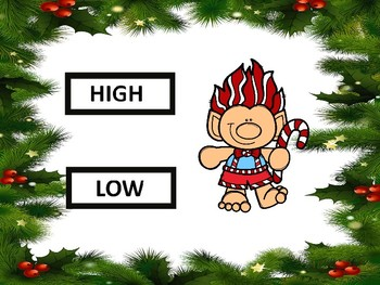 High or Low Christmas Trolls