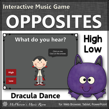 High or Low - Interactive Music Game (Dracula)