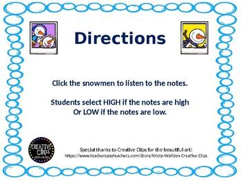 High or Low Snowmen