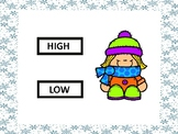High or Low Winter Kids