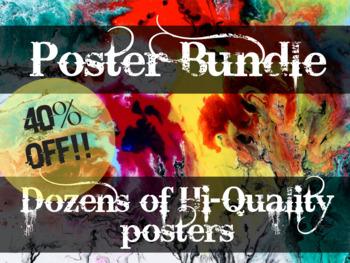 High-quality ESL Poster Bundle - Big Discount!!